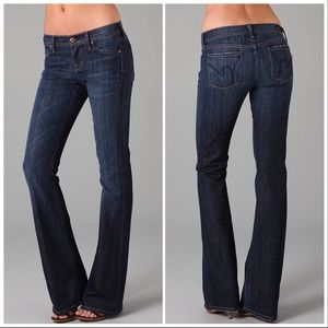 Citizens of Humanity Blue Flare Jeans Ingrid#002